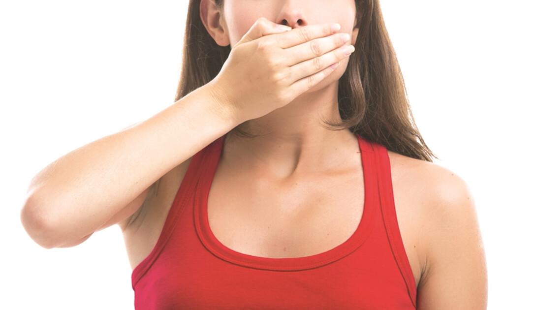 rossz lehelet a nyelvtől giardiasis kép