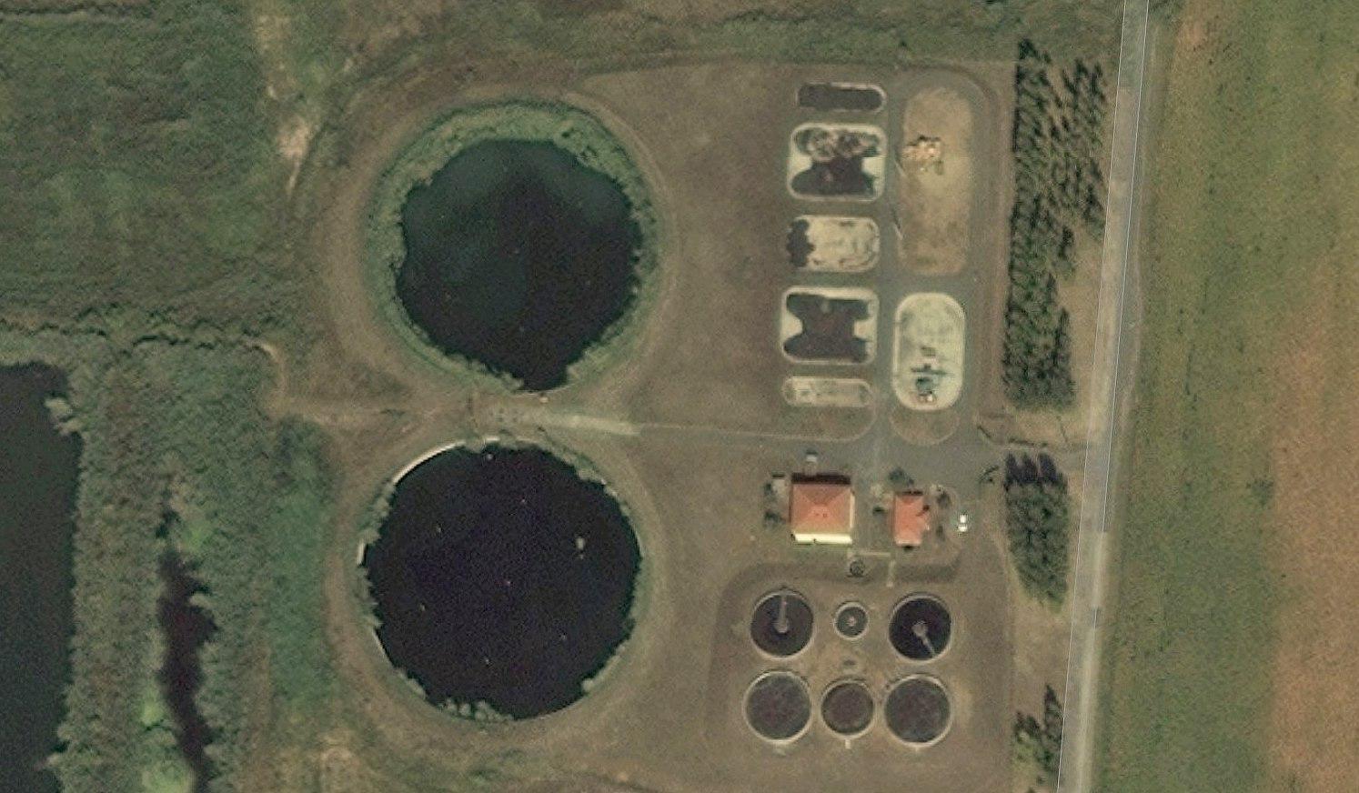 szennyvíz fertőtlenítése a szennyvíztisztító telepeken