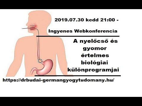 pattanásférgek tünetei a gyomorban