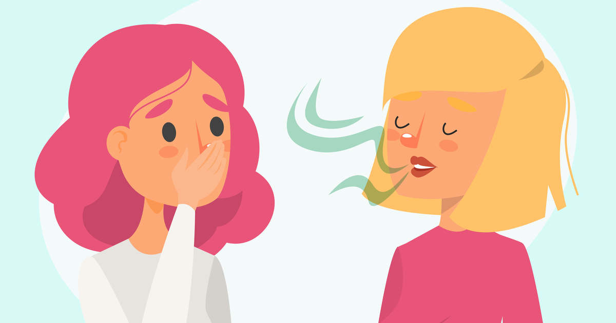 A kellemetlen szájszag, rossz lehelet okai és kezelése
